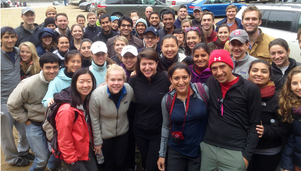 Harvard Business School Hike