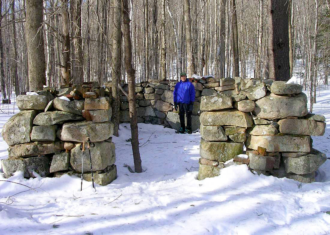 Charcoal Kiln at Hidden Valley Scout Reservation