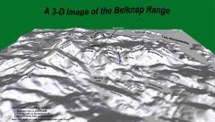 Belknap Mountain Range 3D image