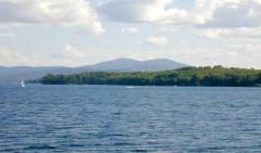 Belknaps from the Broads on Lake Winnipesaukee
