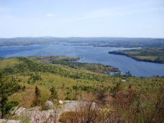 Lake Winnipesaukee from Mount Major