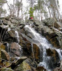 Roaring Falls on Straightback Mountain
