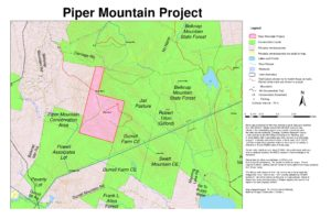 Piper Mountain Project Map