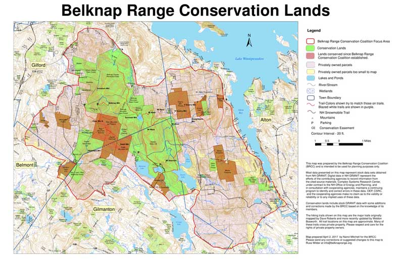 belknap range conservation lands map image